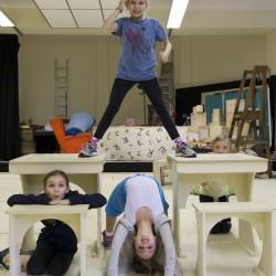 Clockwise from top - Sophia Kiely, Kerry Ingram, Cleo Demetriou and Eleanor Worthington Cox)