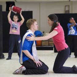 Matthew Malthouse (Escapologist) and Emily Shaw (Acrobat)