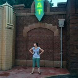 Lore in Disneyland