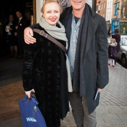 Greg Wise and sister Clare