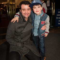 Daniel Mays and son