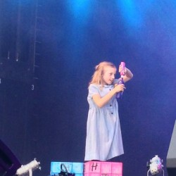 Lottie performing
