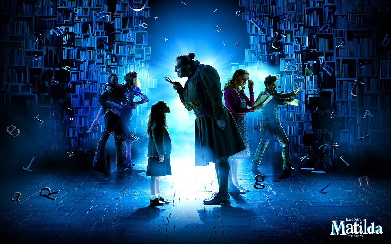 Matilda The Musical - Matilda WallpapersMatilda The Musical Logo
