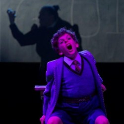 Harry Tunningley as Bruce and Craige Els as Miss Trunchbull