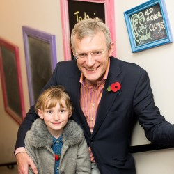 Jeremy Vine and daughter