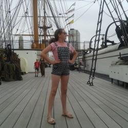 Lydia Davey HMS Warrior
