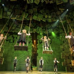 The company- Matilda The Musical London