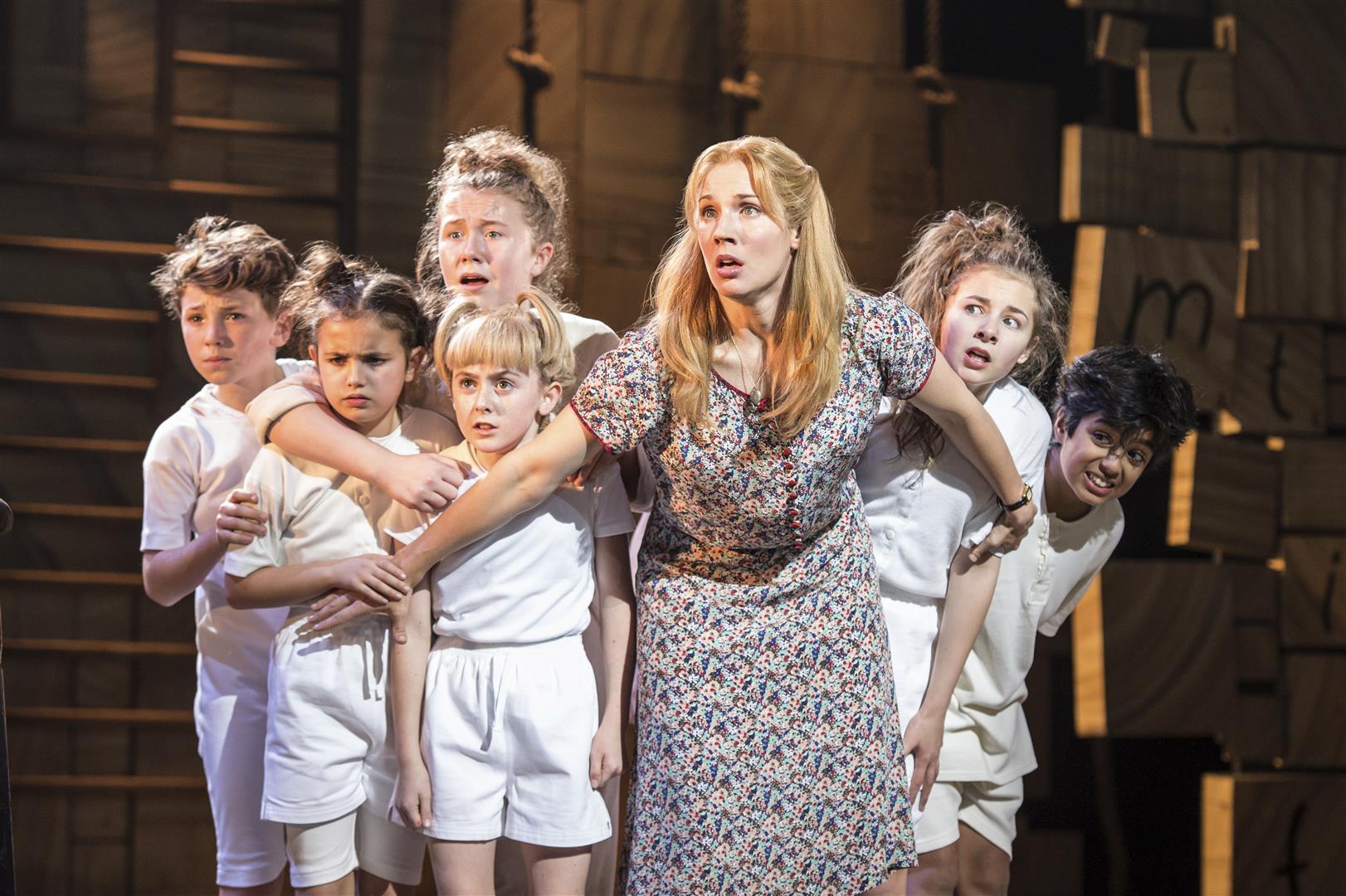 Current cast 2015 | Matilda The Musical London