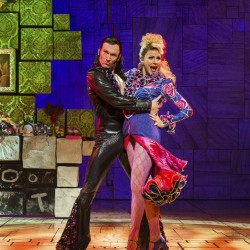 John Walsh Brannoch as Rudolpho and Rebecca Thornhill as Mrs Wormwood