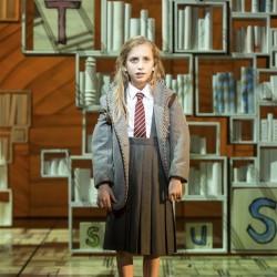 Lizzie Wells as Matilda - Matilda The Musical