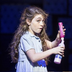 Evie Hone as Matilda - Matilda The Musical