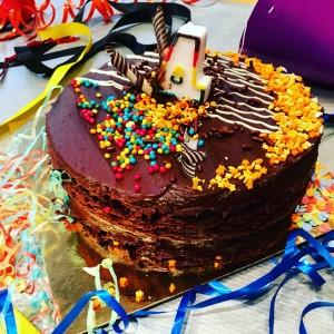 Matilda the musical birthday cake