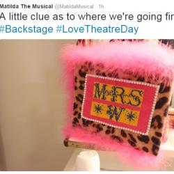Matilda Love Theatre Day-Backstage 1