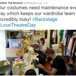 Matilda Love Theatre Day-Backstage 3