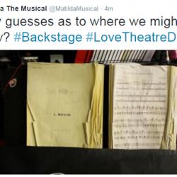 Matilda Love Theatre Day-Backstage 4