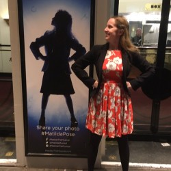 Matilda The Musical competition winner pose