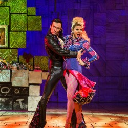 John Brannoch as Rudolpho and Rebecca Thornhill as Mrs Wormwood
