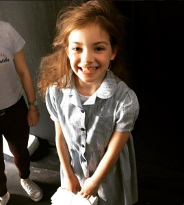 Matilda The Musical West End Live 2016 backstage