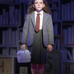 Hannah Levinson as Matilda. Photo Joan Marcus
