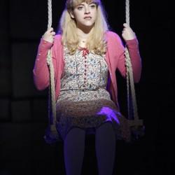 Paula Brancati as Miss Honey. Photo Joan Marcus