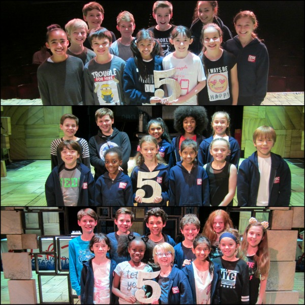 Matilda the Musical child cast- 5th birthday