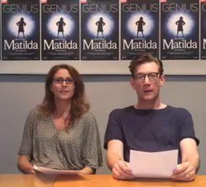 Matilda the Musical-Wormwoods Facebook live