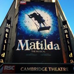 Matilda #matildamusical #westend #musical #show