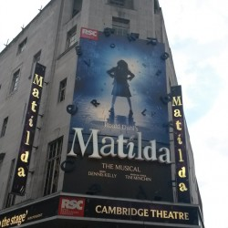 """When I grow up, I will be tall enough to reach the branches that I need to reach to climb the trees you get to climb when you're grown up."" #MatildaTheMusical"