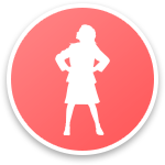 Character generator intro icon