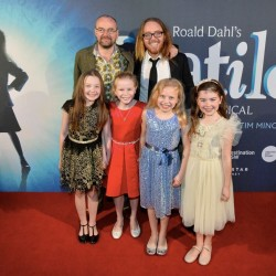 Matilda Opening Night in Sydney