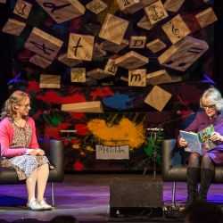 Matilda the musical-Southbank Centre-Duchess of Cornwall reading