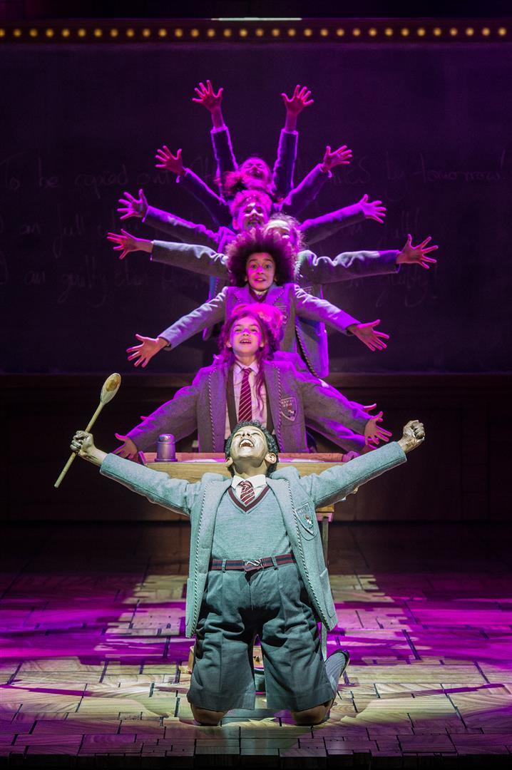 Current Cast 2016 Matilda The Musical London