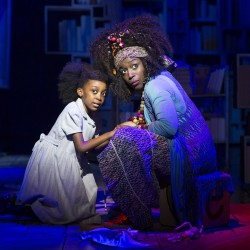 Zaris-Angel Hator as Matilda and Sharlene Whyte as Mrs Phelps