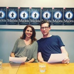Rebecca thornhill & michael Begley- Matilda The Musical London