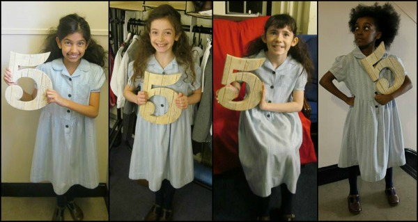 Matilda the Musical 5th birthday